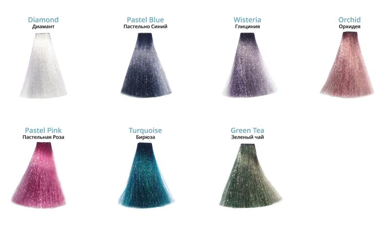 Nouvelle Pastiss color palitra