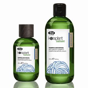 Lisap Очищающий шампунь для волос против перхоти – Keraplant Nature Anti-Dandruff Shampoo