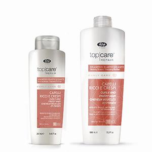 Lisap Elasticising Shampoo Curly and Frizzy Hair Шампунь разглаживающий для вьющихся волос