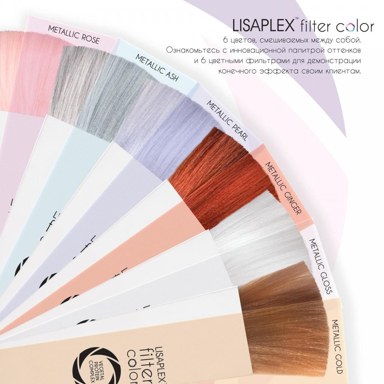 Lisaplex Filter Color безаммиачный крем-гель краситель 2